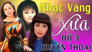 Bộ 3 Nữ Hoàng Bolero Xưa Hương Lan, Thanh Tuyền, Băng Châu - Nhạc Vàng Bolero Hải Ngoại Hay Nhất