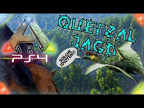 Die Quetzal Jagd beginnt 🔞 ARK Survival Evolved  Playstation 4 🇩🇪