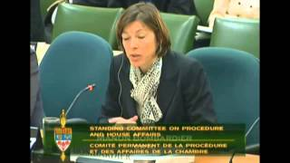 #FairElectionsAct #cdnpoli #HOC Procedure and House Affairs Committee Concerns 01Apr2014 I Part 11