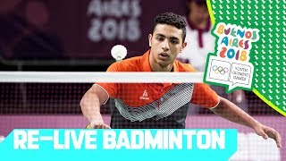 RE-LIVE | Day 06: Badminton | Youth Olympic Games 2018 | Buenos Aires