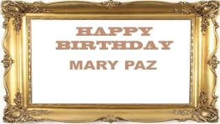 Mary Paz   Birthday Postcards & Postales78