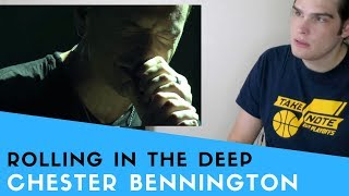 Voice Teacher Reacts to Rolling In The Deep - Chester Bennington