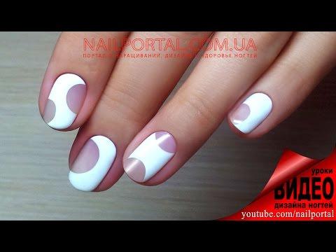 Видео уроки роспись ногтей гель лаками