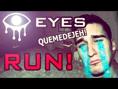 RUN! - Este Fantasma me tiene Harto! - Eyes The Horror Game