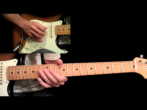 Manhattan Guitar Lesson Pt.4 - Eric Johnson - Main Solo (First Half)