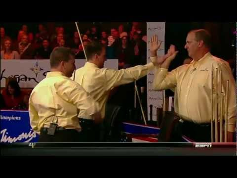 [HD] Billiard World Cup of Trick Shot 2012 - USA vs Europe Part 1