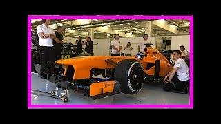 Fernando Alonso back in F1 cockpit for run in 2013 McLaren-Mercedes   k production channel