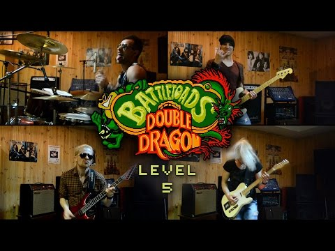 Battletoads & Double Dragon NES - level 5 (cover by Eflavia)