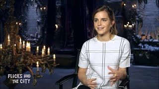 Emma Watson - Beauty and the Beast interview #1