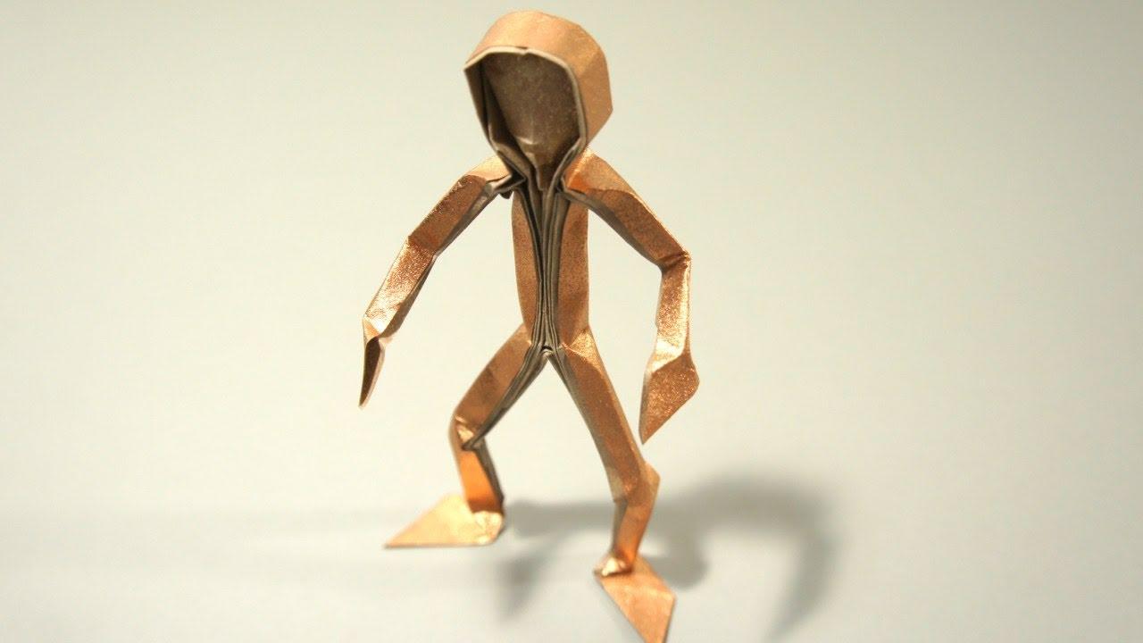 origami figura humana claudio acu a j youtube