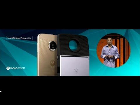 Lenovo Moto Z - Lenovo Tech World 2016