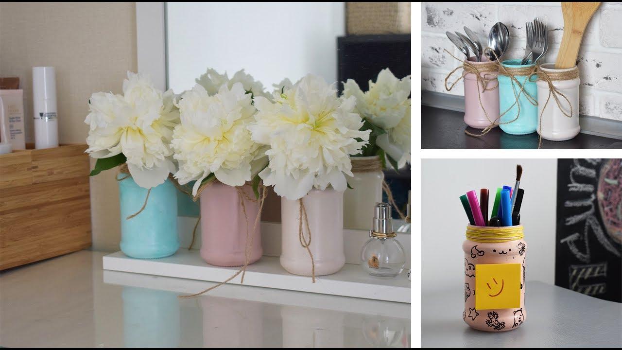 Как сделать вазу для ручек