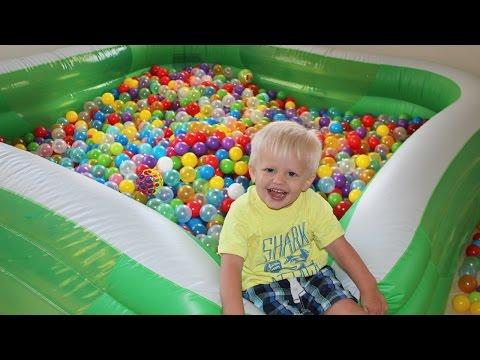 Swimming Pool Ball Pit