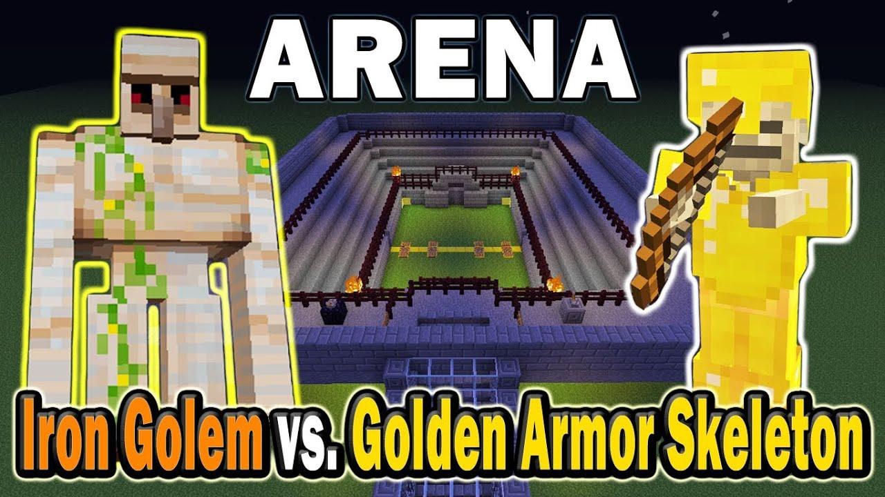 Golden Armor Skeleton