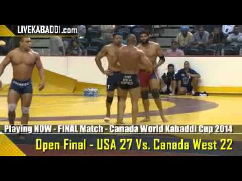 Canada World Kabaddi Cup 2014 – Sat  Aug  9th – Hamilton, Canada video