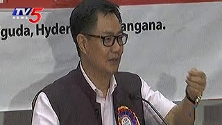 Minister Kiren Rijiju Speech at National Security and Public Safety Summit | Hyderabad