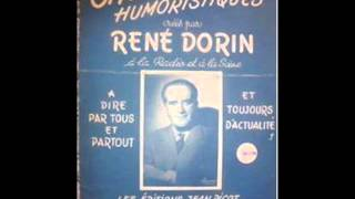 """René Dorin et Paul Colline """" la visite du beau pays """" 1934"""