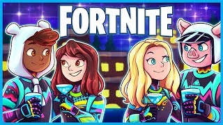 #1 VICTORY ROYALE WITH OUR GIRLFRIENDS in Fortnite: Battle Royale! (Fortnite Funny Moments & Fails)