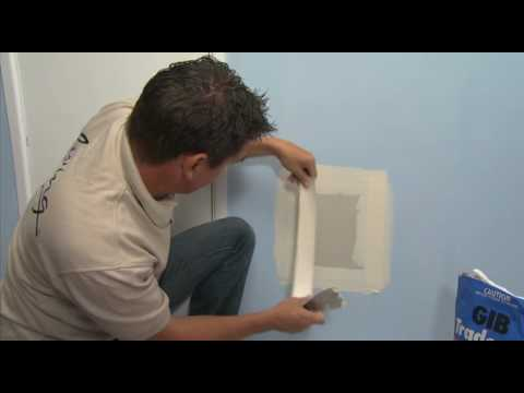 Repairing Large Holes In Your Plasterboard Walls With Gib
