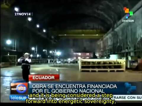 Ecuador to build 8 hydroelectric plants