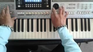 chơi lead guitar trên organ phần 4 ( giang tấu xót xa )