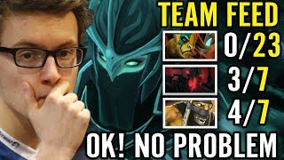 Miracle Comeback with Intentionally Feeders PA Carry All! Dota 2 Pro