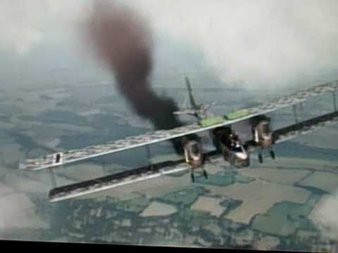 World War 1 Gotha Bomber Interception - YouTube