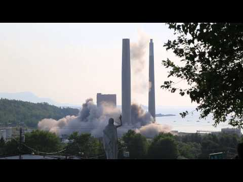 Controlled Explosion Fail in Dalhousie New Brunswick