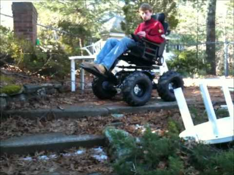 Off road 4x4 Wheelchairs
