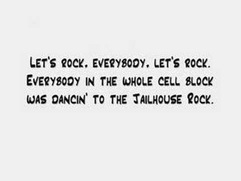 Elvis Presley - Jailhouse Rock (lyrics) video