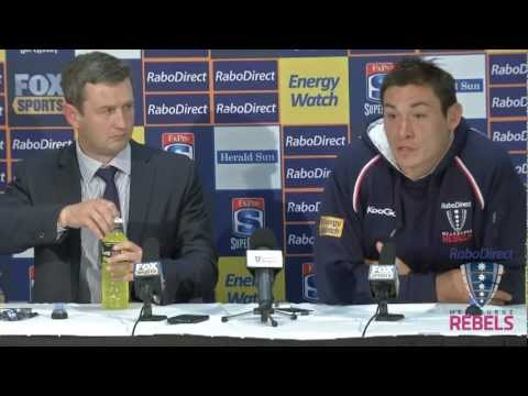 Rebels vs Force post-match press conference - Rebels vs Force post-match press conference