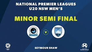 NPL NSW U2039s, Minor Semi Final, Sutherland Sharks v Sydney FC NPLNSW
