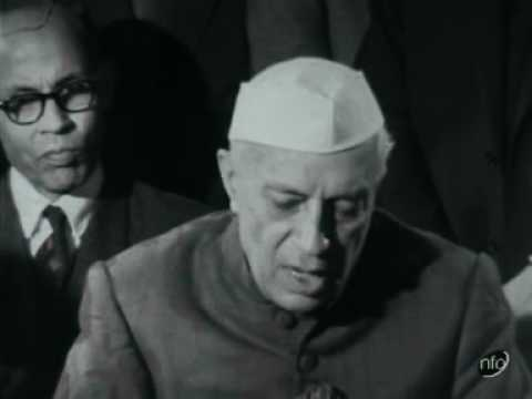 Jawaharlal Nehru speech criticising UN Secretary General Dag Hammarskjˆld