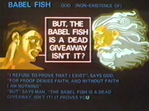 Babel Fish - The Oddest Thing In The Universe - The ...