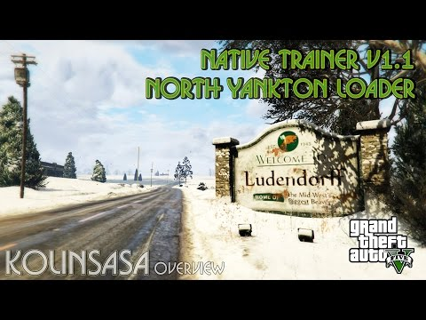 Native Trainer v1.1 North Yankton loader