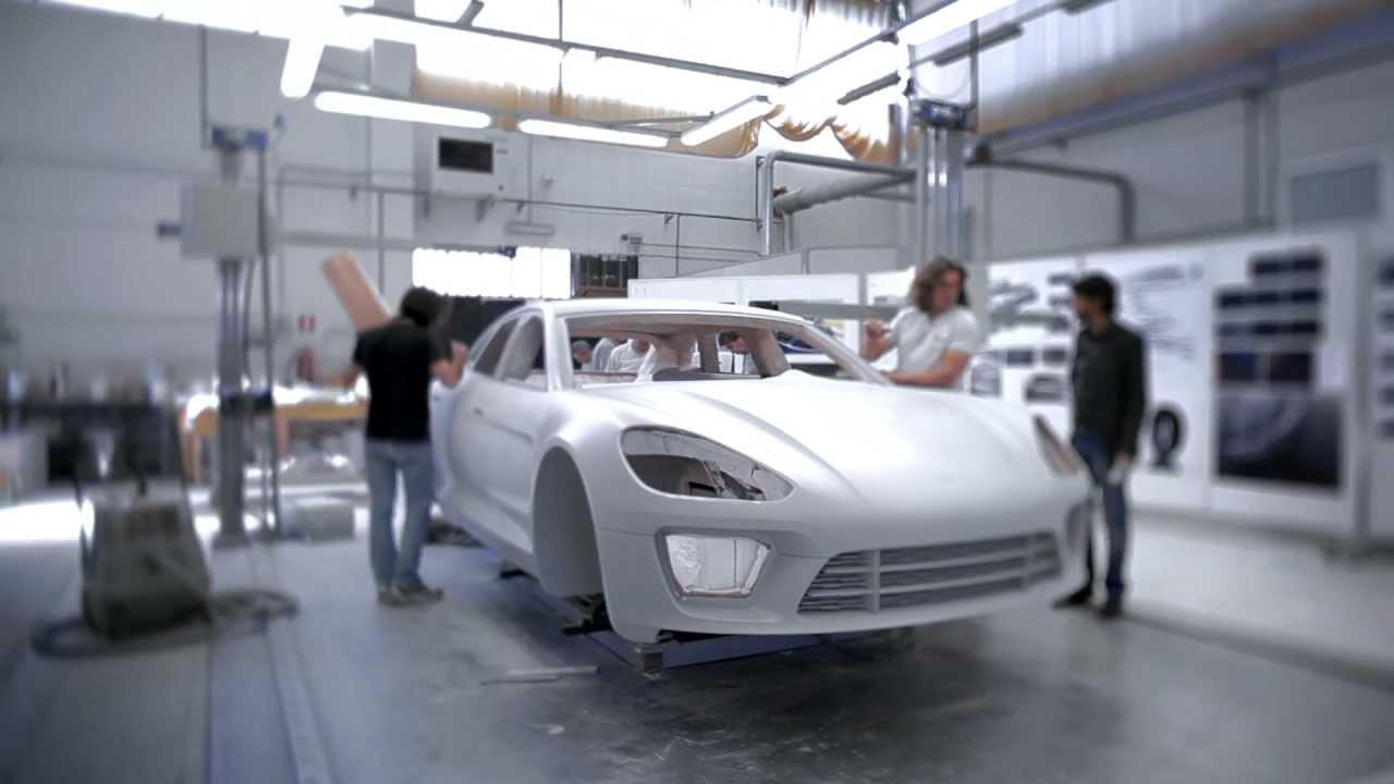 How To Build A Concept Car Porsche Sport Turismo Youtube