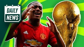 TRANSFER NEWS: Martial to leave Manchester United + World Cup 2018 Kick Off ► Daily Football News