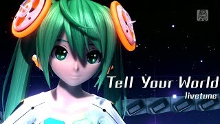Watch Hatsune Miku Tell Your World video