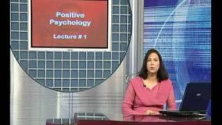 PSY409 Positive Psychology