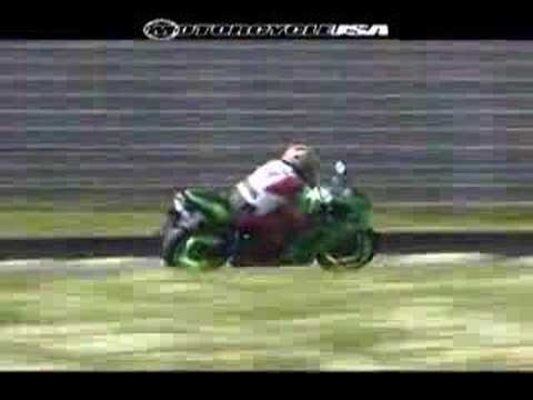 2008 Kawasaki Ninja ZX-6R - Supersport Motorcycle Video