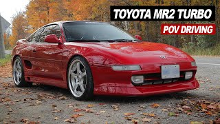 What It's Like Driving A Modified Toyota MR2 | POV Driving