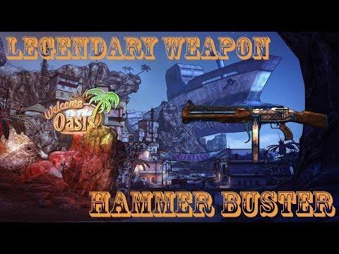 Borderlands 2 легендарные пушки - #5 Hammer Buster (Отбойник)