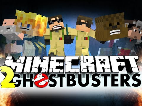 Minecraft GHOSTBUSTERS 2!! TANK OP!! (SkyDoesMinecraft, Jerome and Friends) – 2MineCraft.com