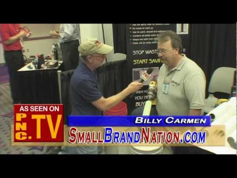 Paintrifuge paint roller cover cleaner product news report with Billy Carmen from Small Brand Nation