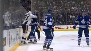 Dion Phaneuf's CRUSHing Hit on Hornqvist - Nov 14th 2014 (HD)