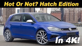 2018 Volkswagen Golf R Review and Comparison