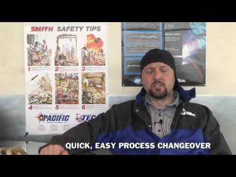 Welding Process Changeover with Miller's PipeWorx