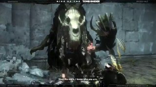 Rise of The Tomb Raider Defeating The Witch Boss Fight