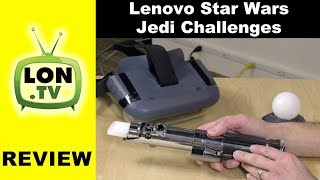 Lenovo Star Wars Jedi Challenges AR / Augmented Reality Game Review