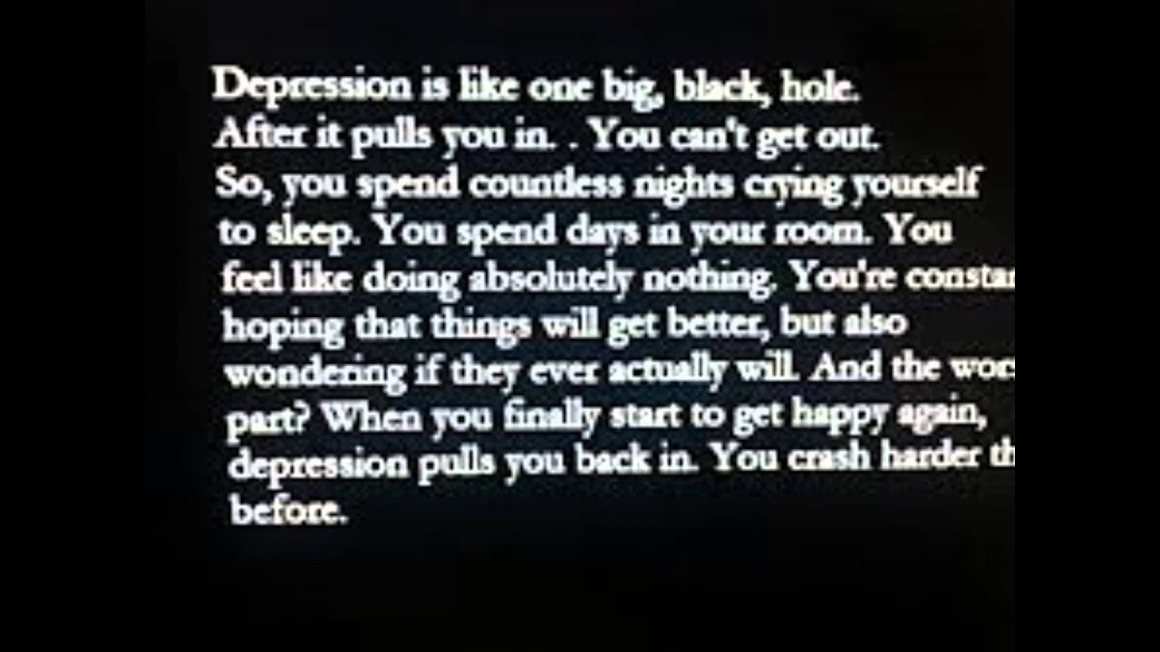 Quotes About Self Harm And Depression maxresdefault jpg